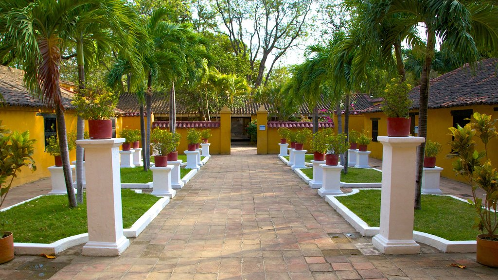 Quinta de San Pedro Alejandrino que inclui elementos de patrimônio