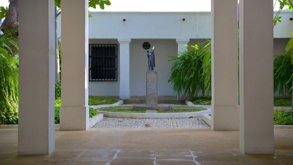 Quinta de San Pedro Alejandrino caracterizando um memorial