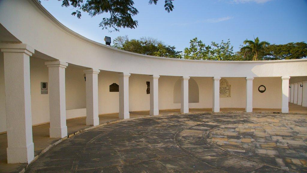 Quinta de San Pedro Alejandrino featuring a memorial
