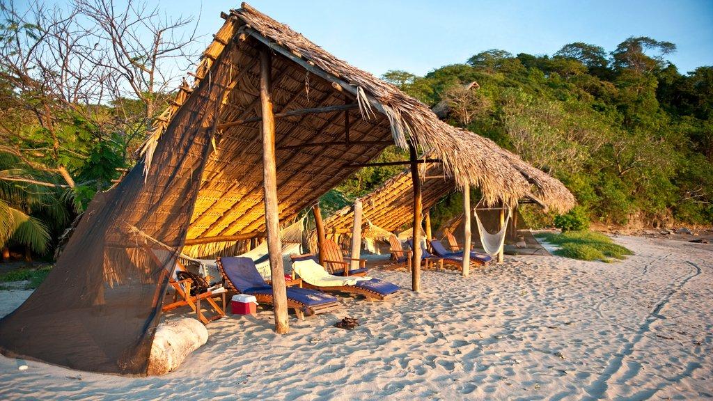Nicaragua featuring a sandy beach