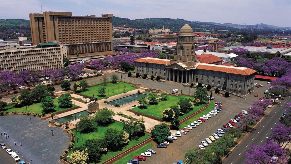 Pretoria which includes a city, an administrative buidling and heritage architecture
