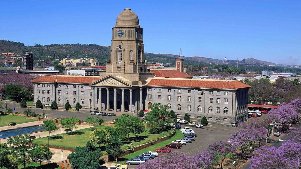 Pretoria featuring heritage architecture, a city and a square or plaza
