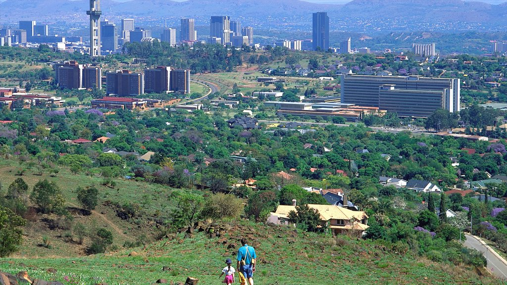 Pretoria which includes a city