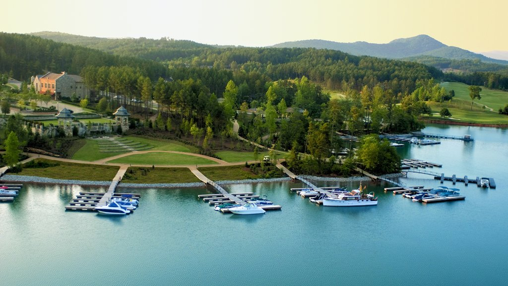 Greenville - Spartanburg featuring a coastal town, tranquil scenes and a bay or harbor