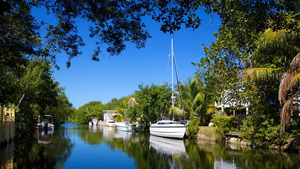 Big Pine Key featuring a river or creek, a bay or harbor and general coastal views