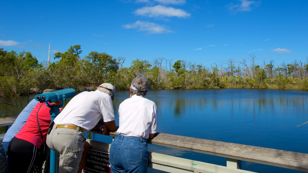 Big Pine Key which includes views and a lake or waterhole as well as a small group of people
