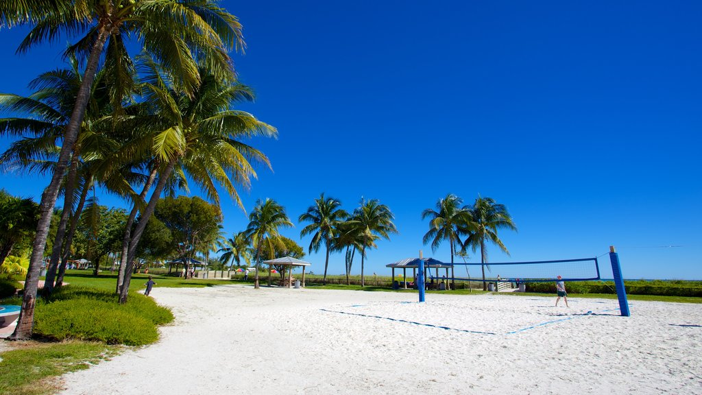 Sombrero Beach which includes tropical scenes and a sandy beach