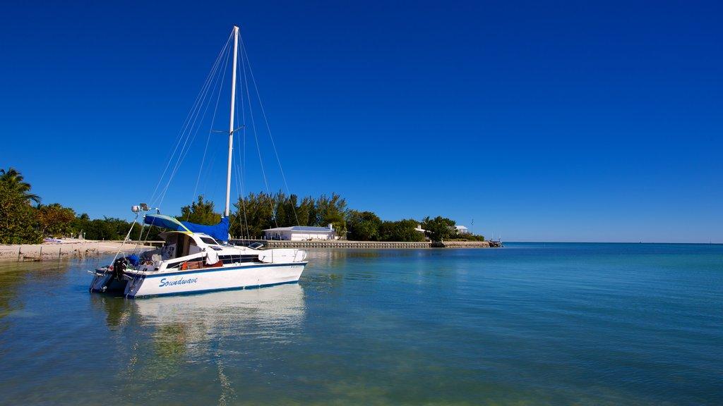 Sombrero Beach which includes a beach and general coastal views