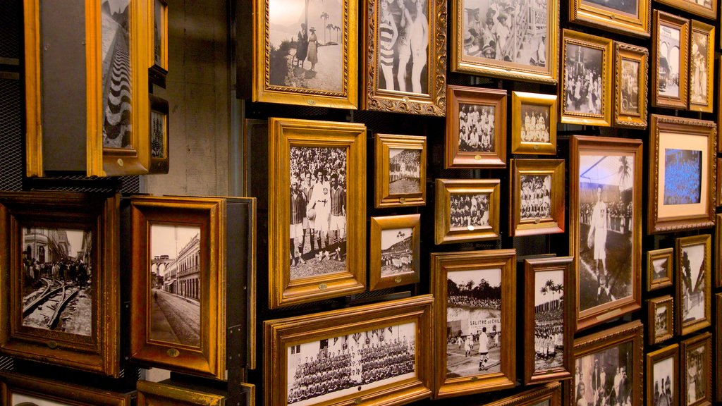 Football Museum which includes interior views