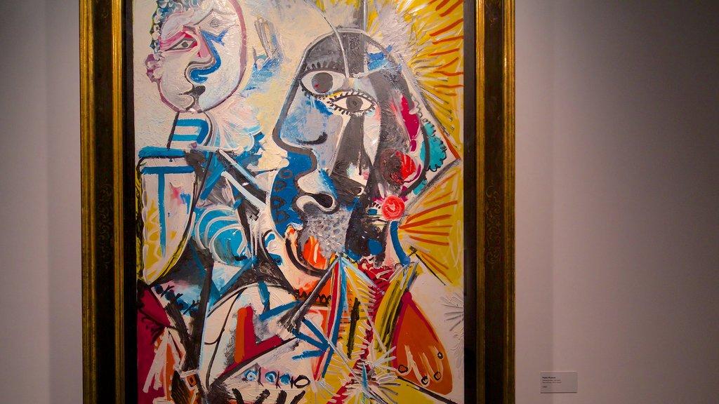 Bank of Brazil Cultural Center featuring art