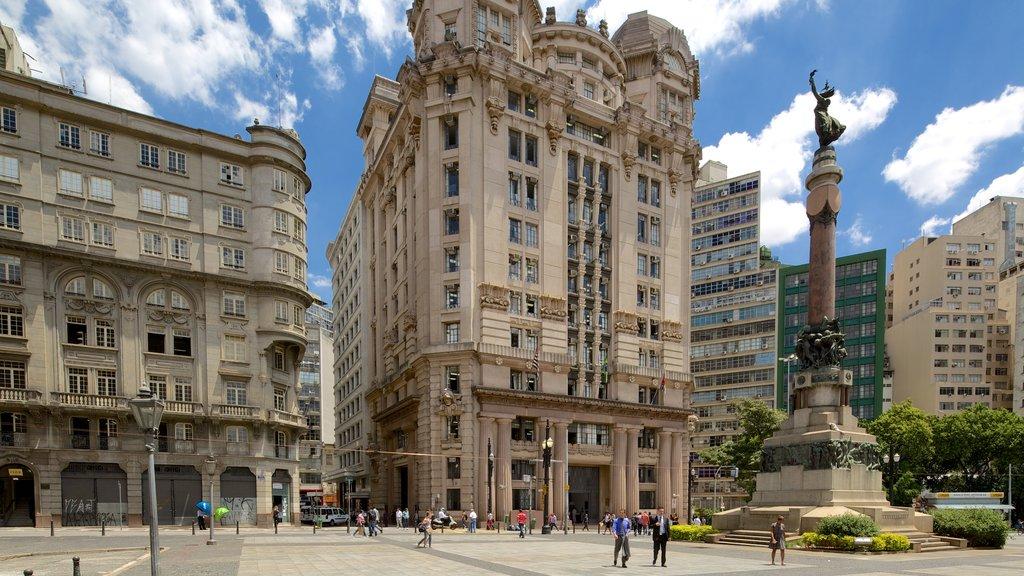 Sao Paulo mostrando un parque o plaza y patrimonio de arquitectura