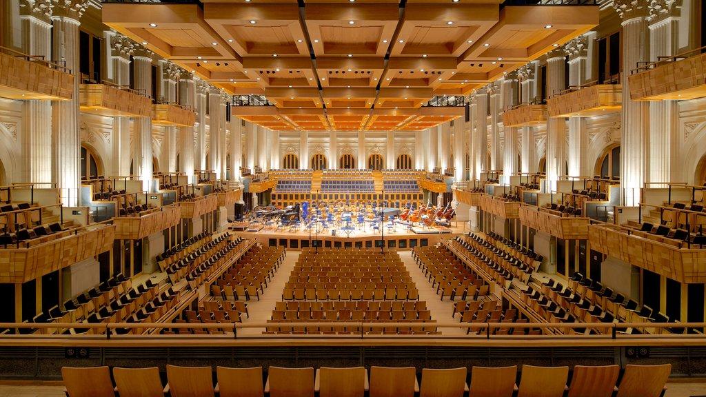 Sala Sao Paulo showing interior views and theater scenes