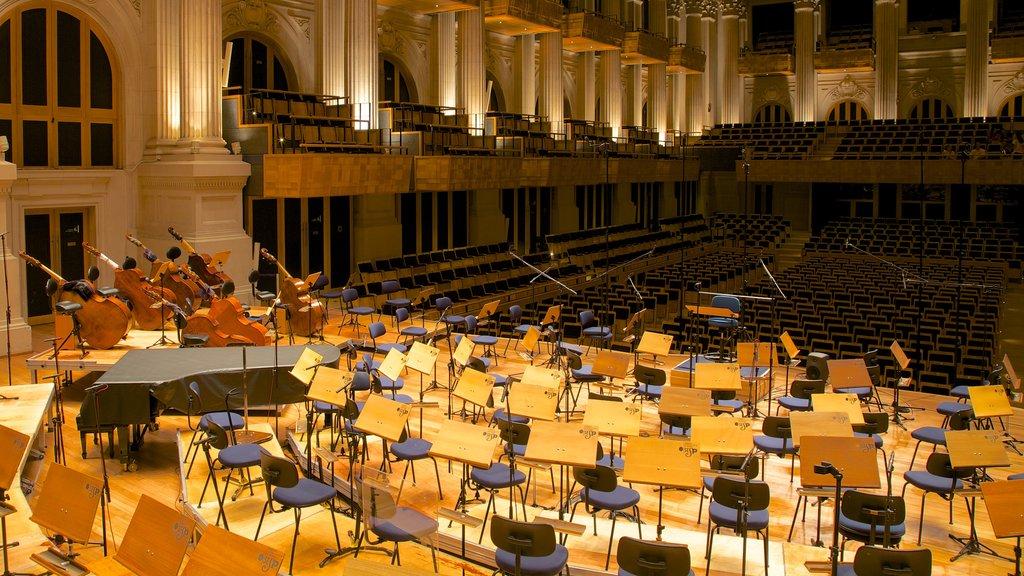 Sala Sao Paulo which includes interior views and theater scenes