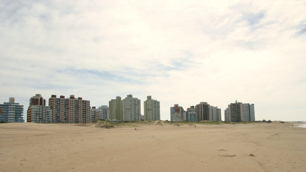 Punta del Este which includes a coastal town and a beach
