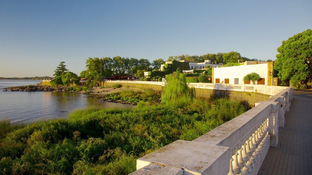 Colonia del Sacramento which includes general coastal views