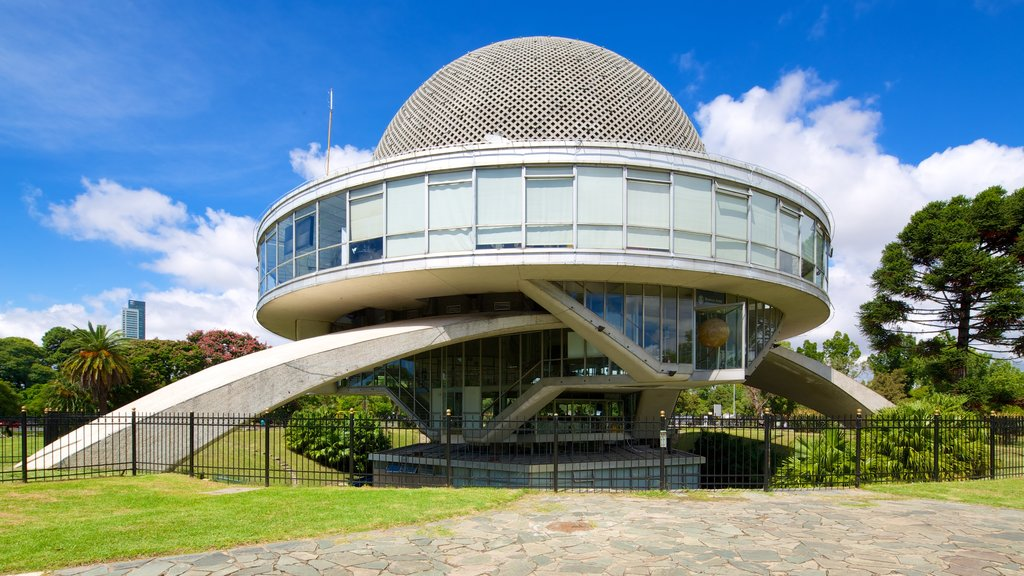 Buenos Aires featuring modern architecture and an observatory