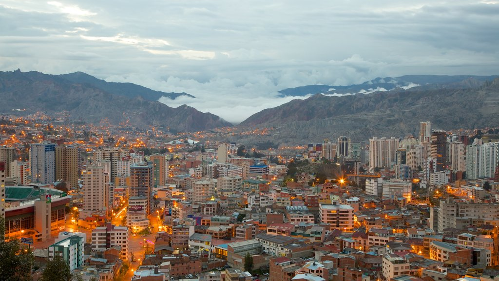 La Paz which includes a city