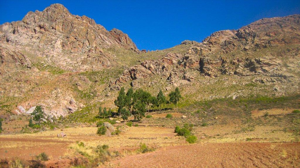 Sucre ofreciendo montañas