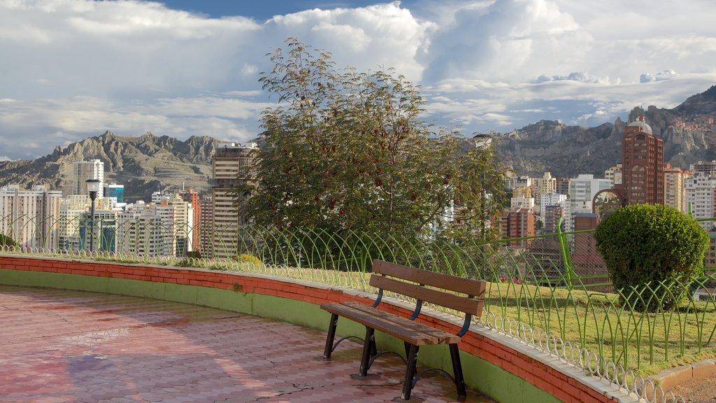 La Paz which includes a city
