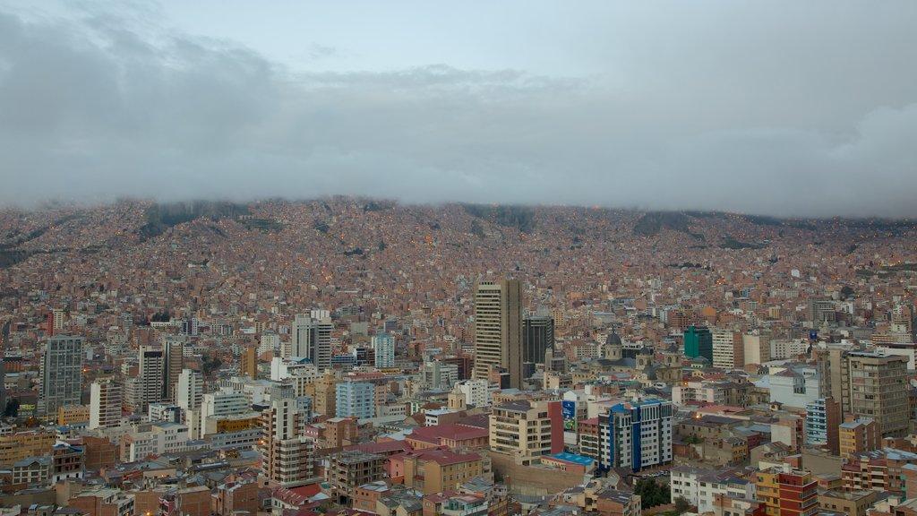 La Paz featuring a city
