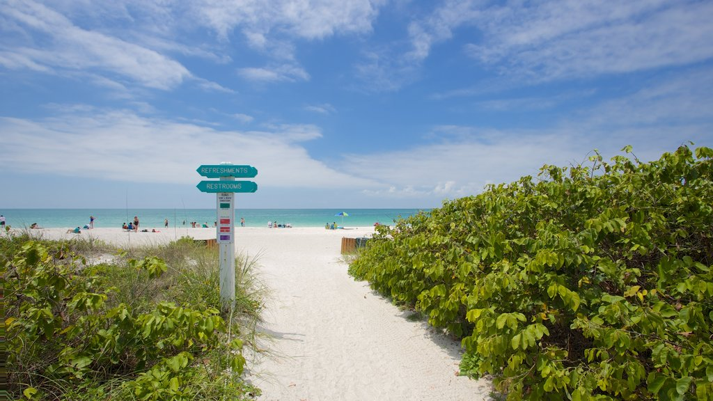 Lido Key which includes general coastal views and a sandy beach