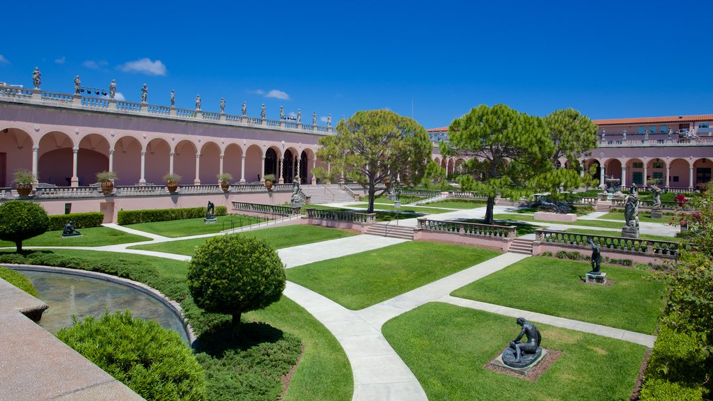 Ringling Museum of Art which includes a garden