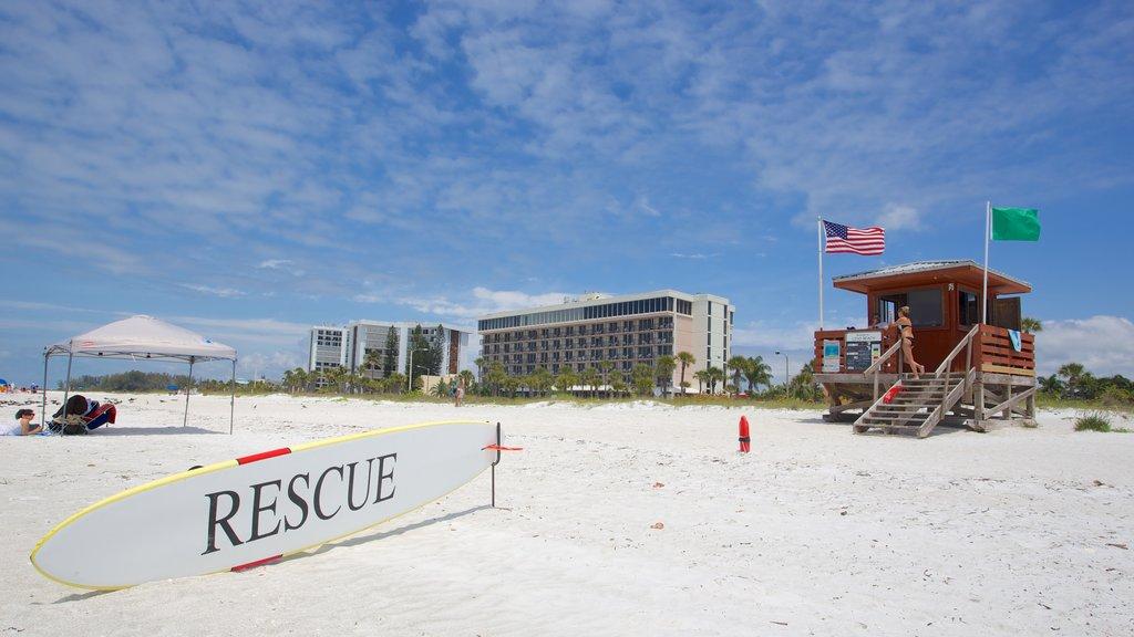 Lido Key featuring a sandy beach