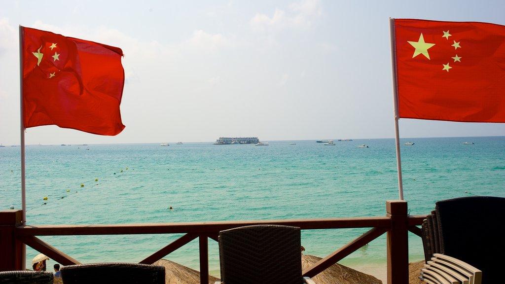 Dadongdai Beach which includes general coastal views
