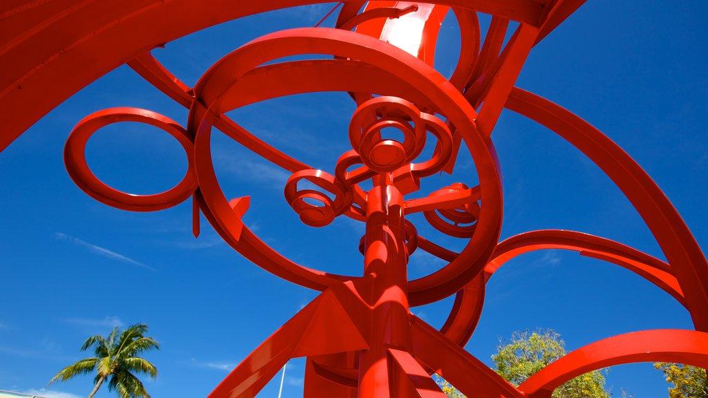 Centennial Park showing outdoor art