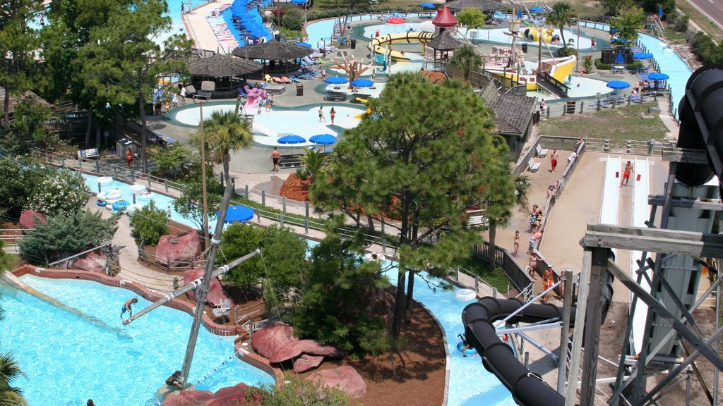 Shipwreck Island Waterpark caracterizando um parque aquático e passeios