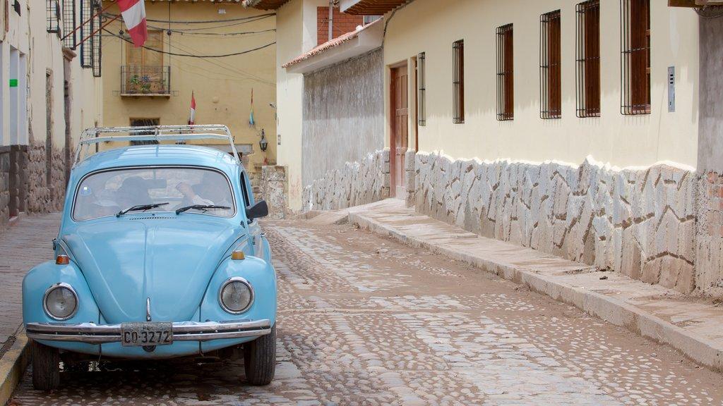 Cusco mostrando escenas urbanas