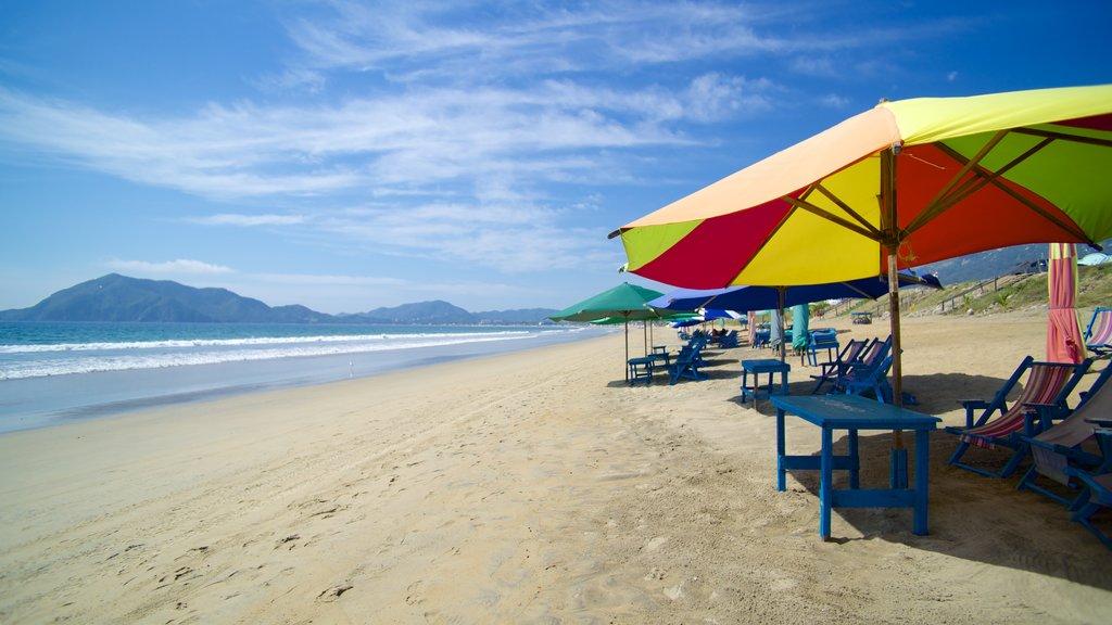 Manzanillo showing a beach