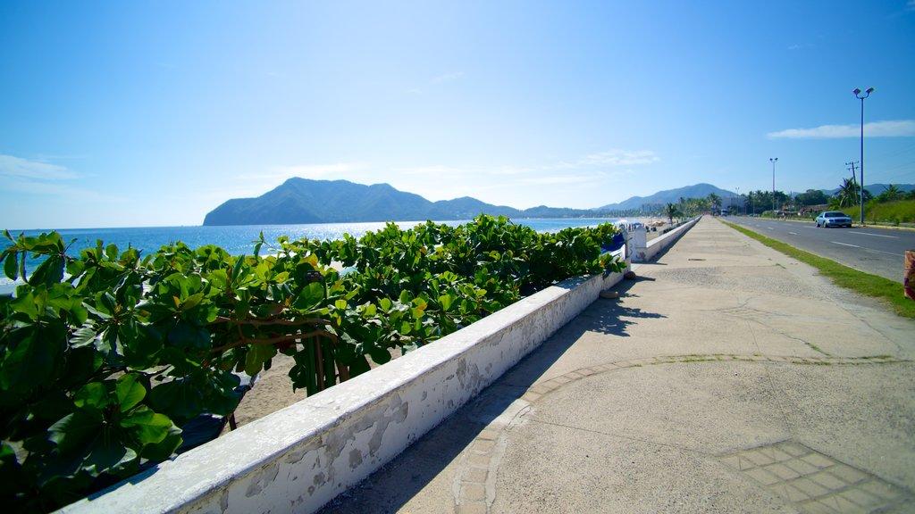 Playa Miramar showing street scenes