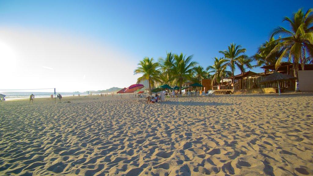 El Palmar Beach featuring a sandy beach, tropical scenes and general coastal views