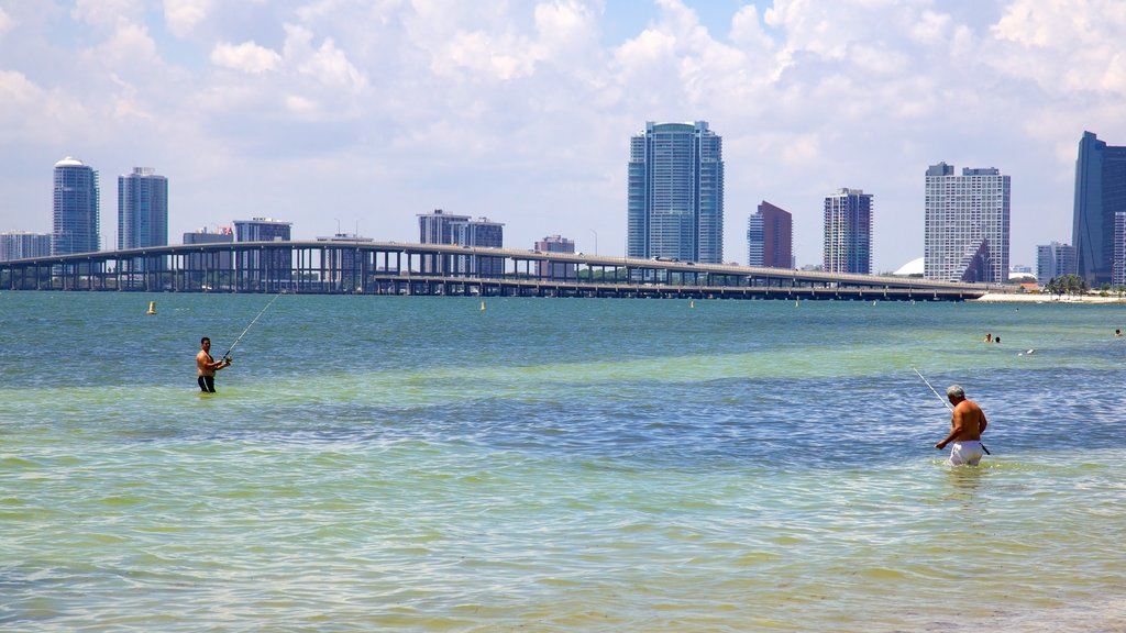 Miami featuring a bridge, general coastal views and fishing