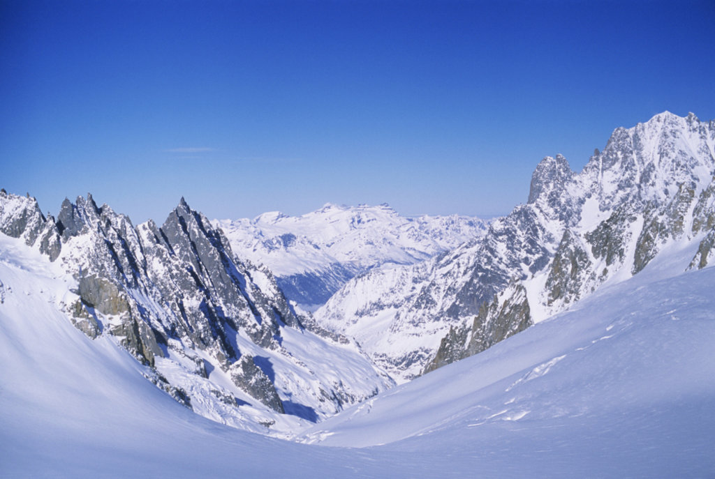 Un suggestivo scorcio di Courmayeur Photo credit Getty Images