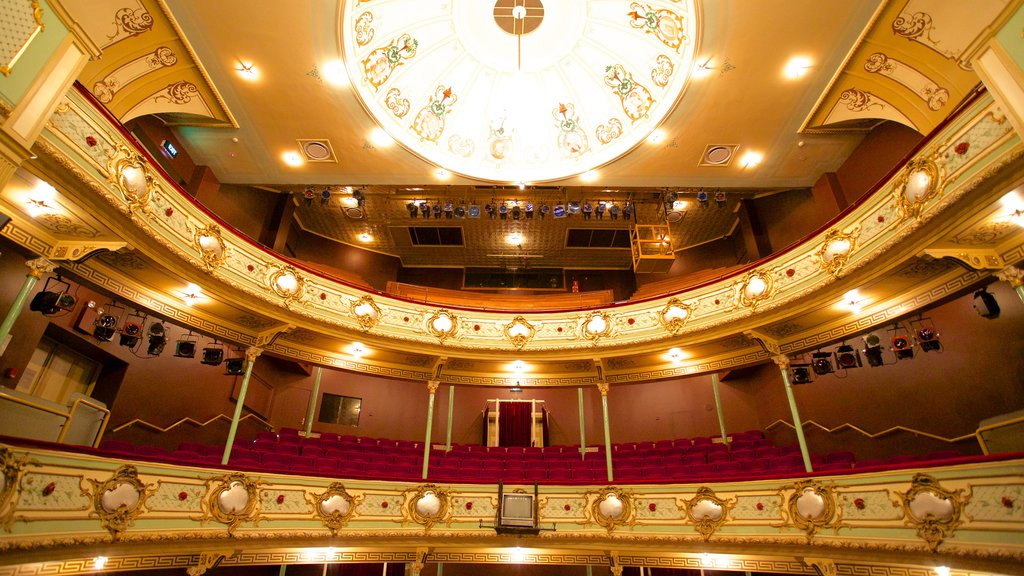 Theatre Royal featuring interior views and theater scenes