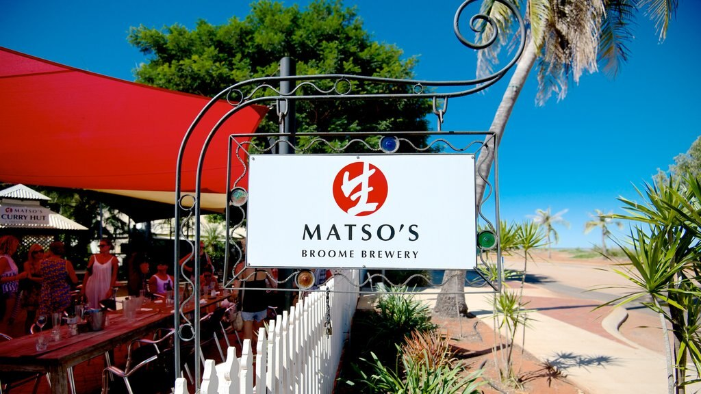 Matso\'s Brewery showing signage