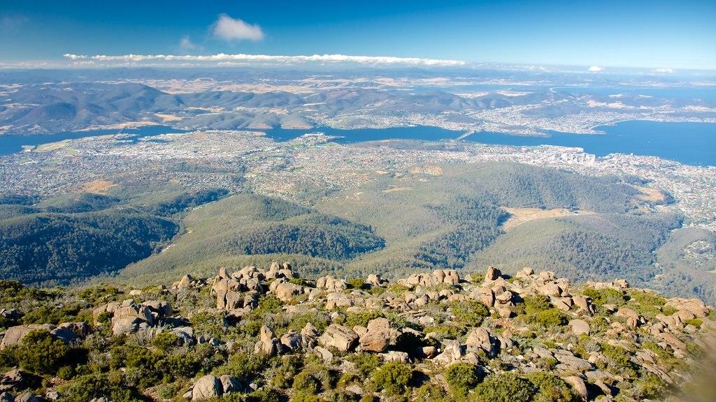 Mt. Wellington showing mountains