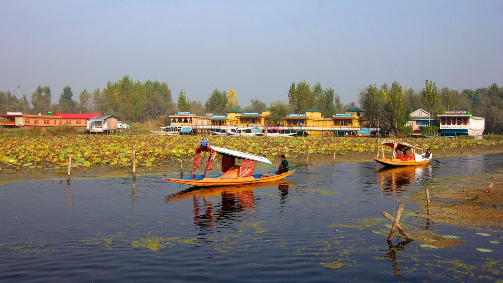 Jammu and Kashmir which includes kayaking or canoeing and wetlands