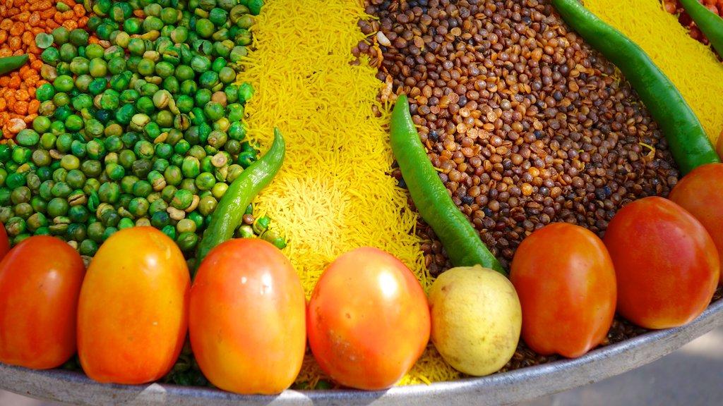 Jaipur mostrando comida