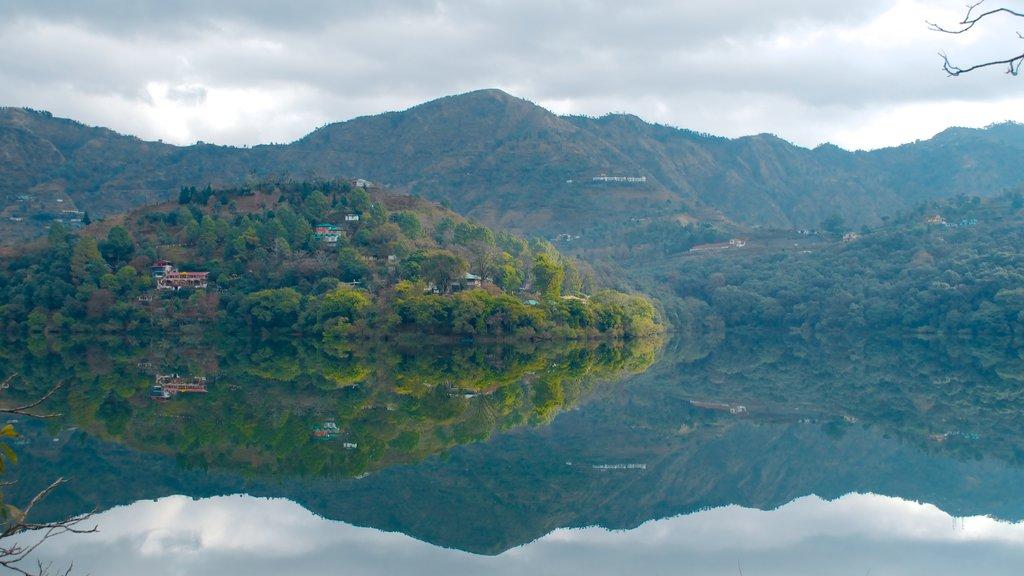 Naukuchiyatal which includes landscape views, general coastal views and a bay or harbor