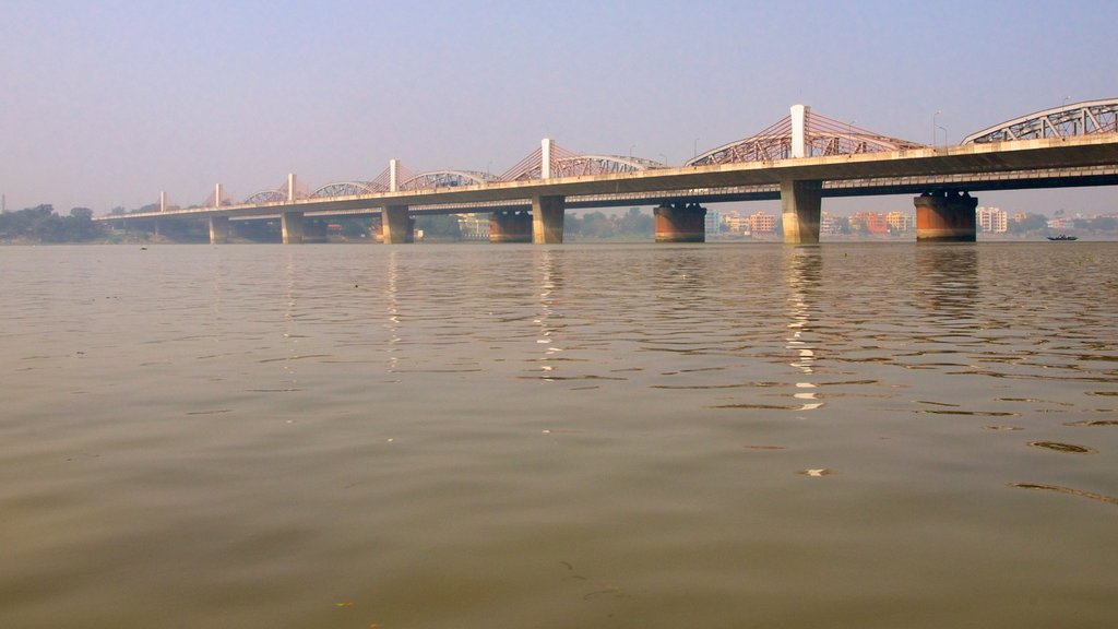 Bally Bridge which includes a river or creek, a city and a bridge