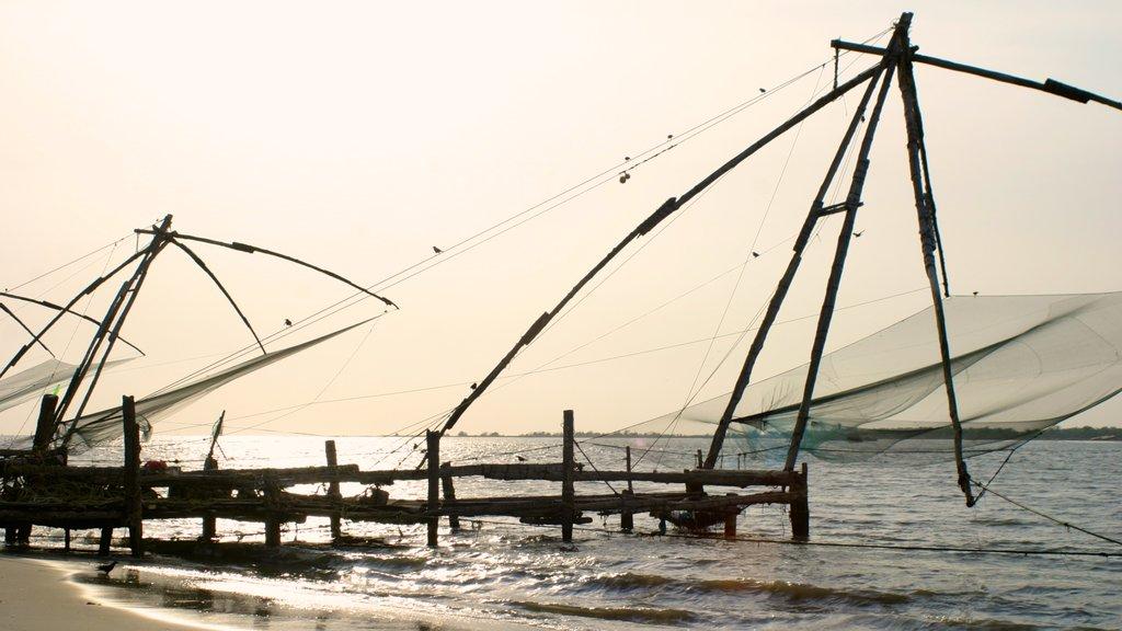 Cochin featuring general coastal views