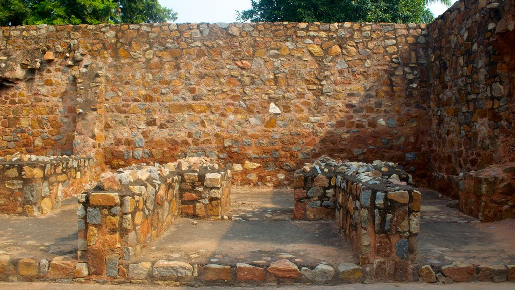 Humayun\'s Tomb showing a memorial, heritage elements and heritage architecture