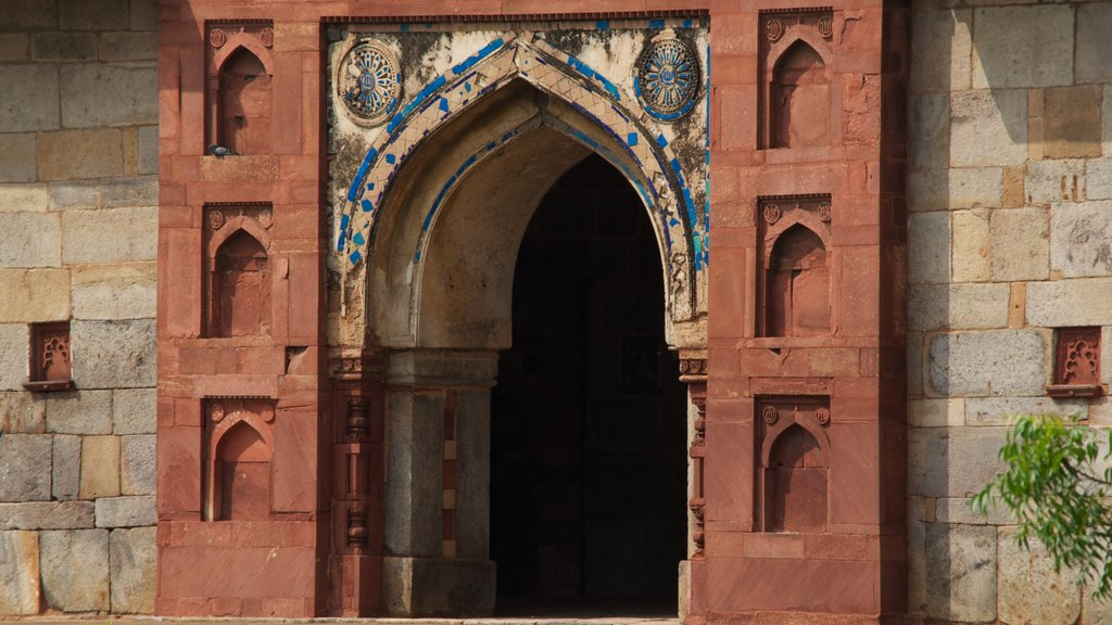 Humayun\'s Tomb featuring heritage elements, heritage architecture and a memorial