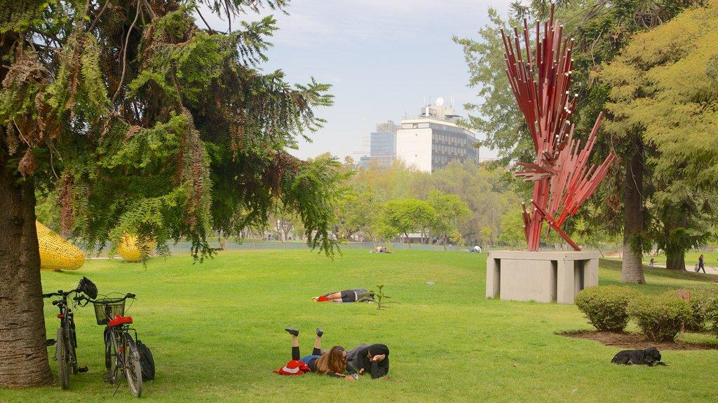 Sculpture Park showing outdoor art, a park and art
