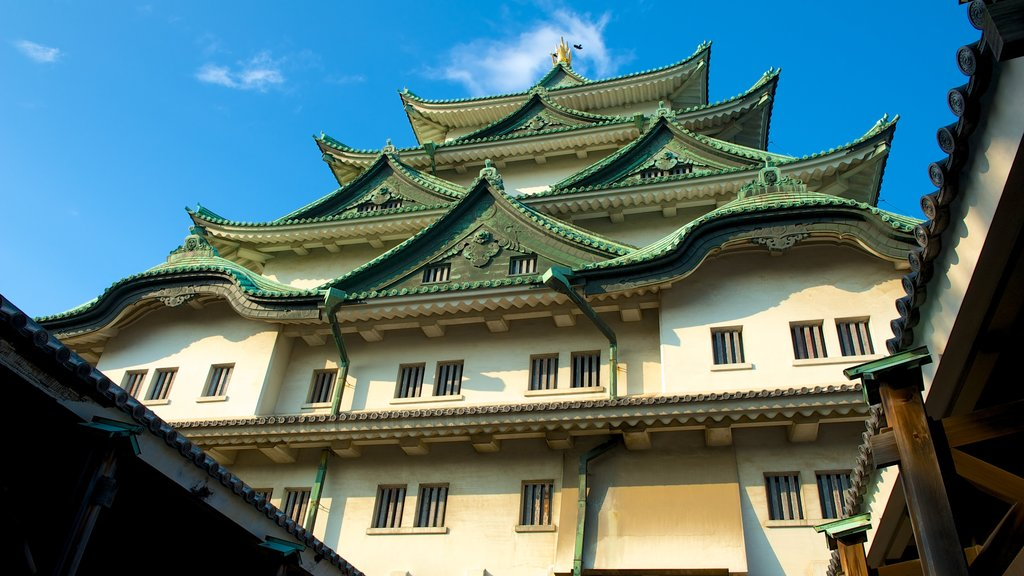 Nagoya Castle which includes heritage architecture