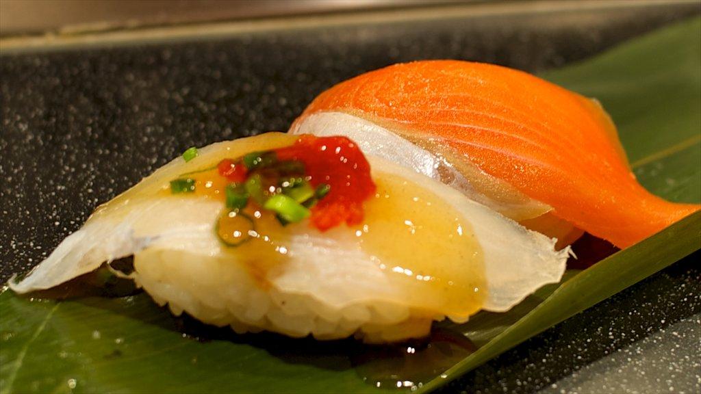 Kitakyushu showing food