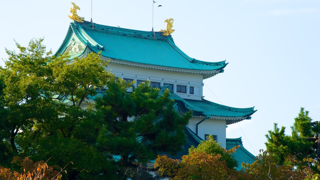 Nagoya Castle which includes a castle and heritage architecture